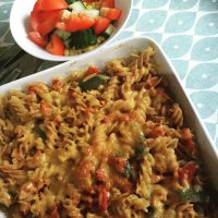 Easy Pizza Pasta Bake Recipe