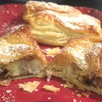 Mincemeat and Custard Parcels