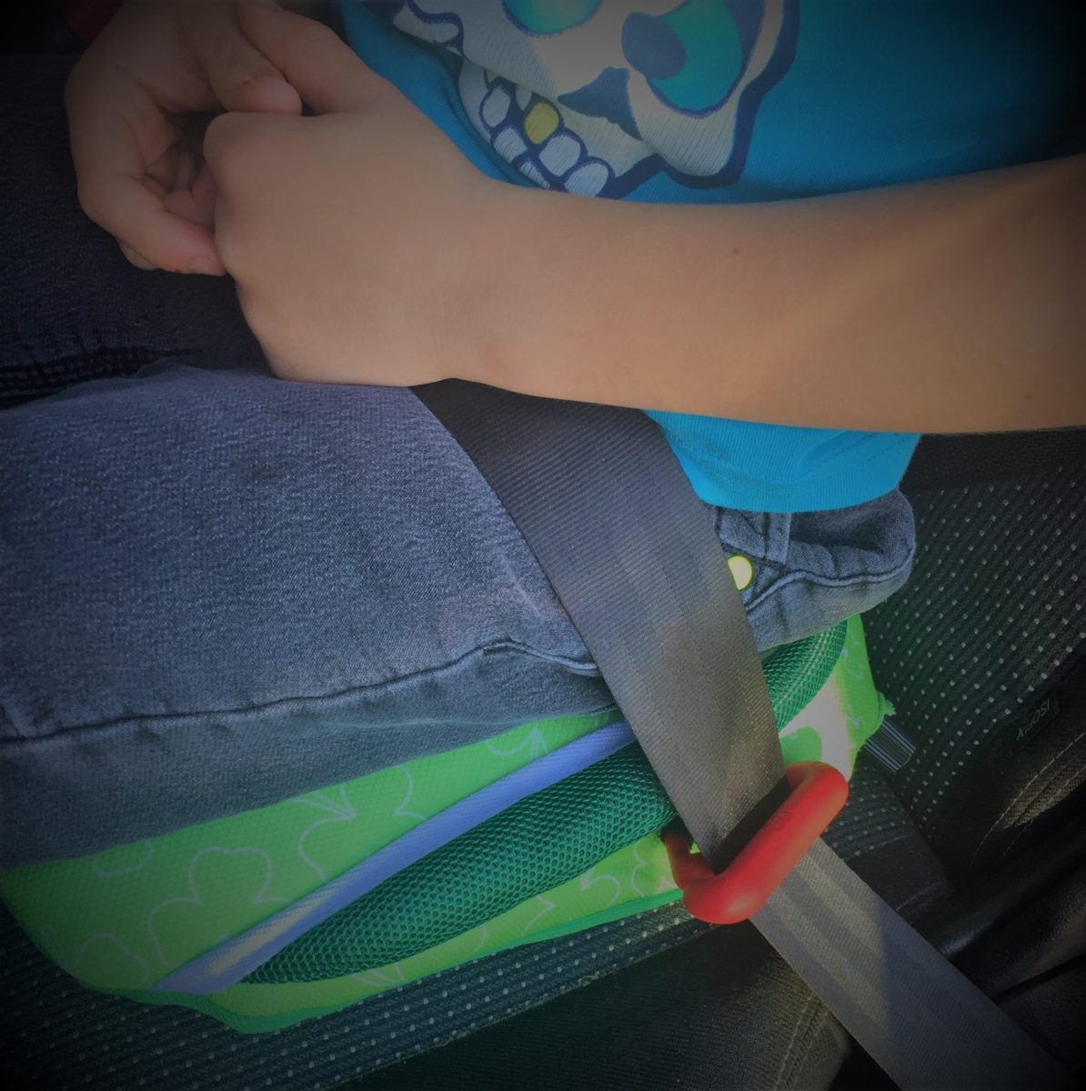Bubblebum Inflatable Car Booster Seat: Review and Giveaway