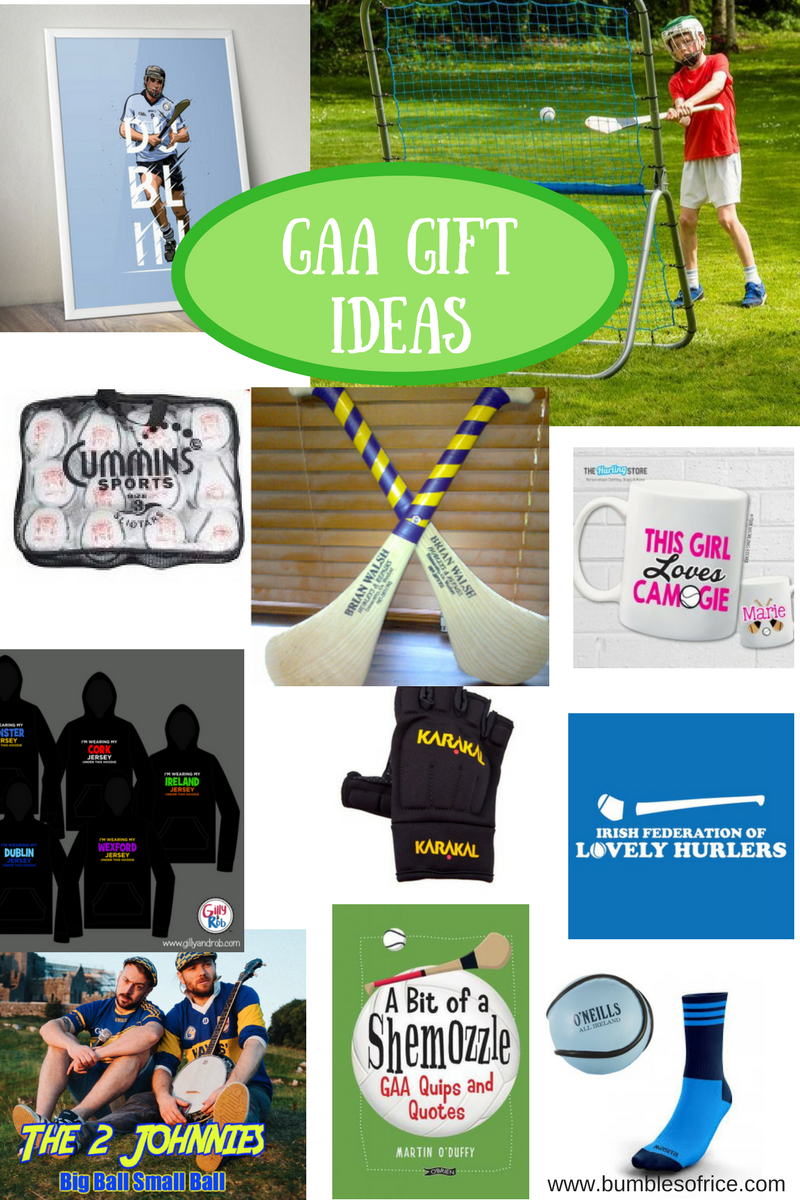 Christmas Gift Ideas for GAA Mad Kids and Teens - Bumbles of Rice