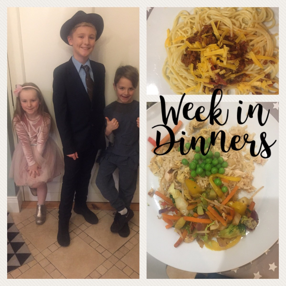 A Week in Dinners: Musical Week Mish-Mash and Getting our Priorities Straight