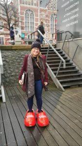 Amsterdam city break clogs