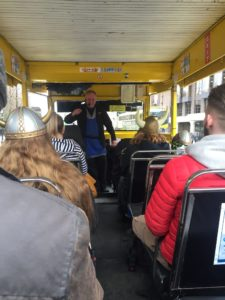 viking splash tours dublin with kids raining dukw tour days out