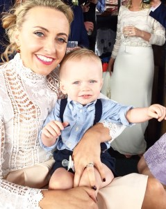 Triona and her son Harry