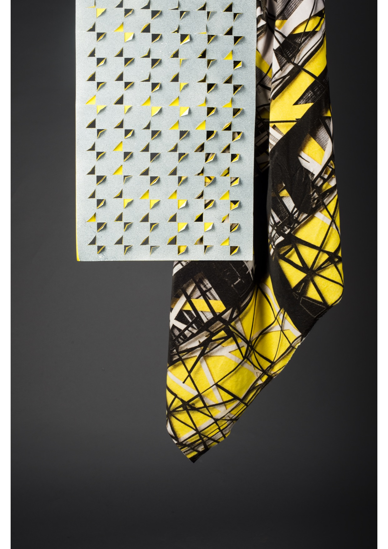 Laser Cut Wall Panell | Digital Print, Velvet