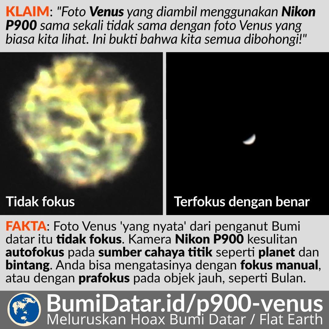 Nikon Coolpix P900 dan Foto Venus Yang Katanya Asli