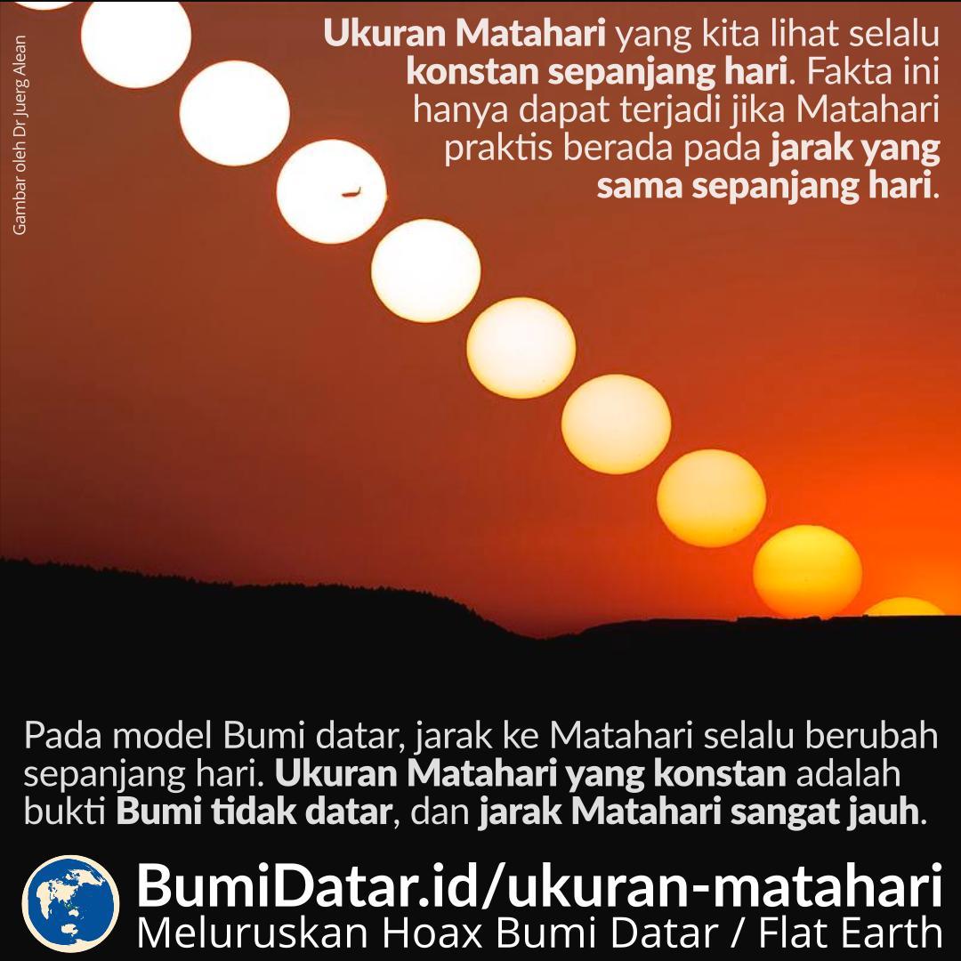 Ukuran Matahari Yang Terlihat Oleh Kita