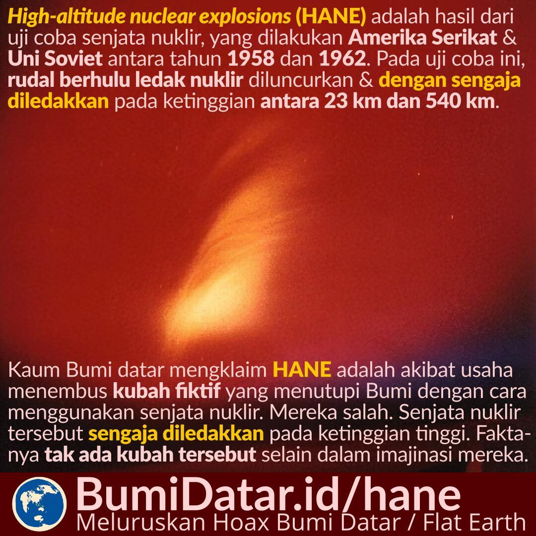 Peledakan Nuklir di Ketinggian (HANE)