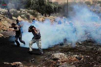 Palestina - Foto demo rakyat Palestina di Kufr Qaddum 01