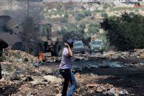 Palestina - Foto demo rakyat Palestina di Kufr Qaddum 04