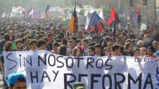 Aksi Pelajar Mahasiswa Chile 02