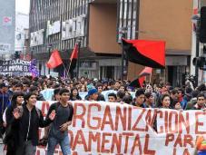 Aksi Pelajar Mahasiswa Chile 03