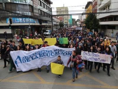 Aksi Pelajar Mahasiswa Chile 06