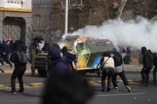 Aksi Pelajar Mahasiswa Chile 09