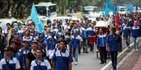 GSBI Tangerang Aksi Tolak BBM Naik dan Tuntut Upah Naik 2015 03