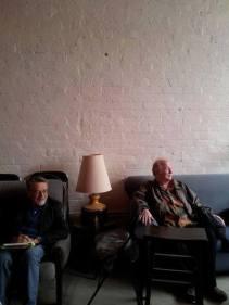 John Percy Kiri dan Max Lane Kanan