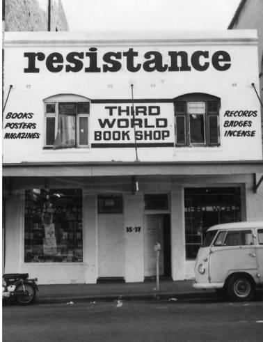 Resistance centre and Third World Bookshop, 35-37 Goulburn St. (photo Russ Grayson)