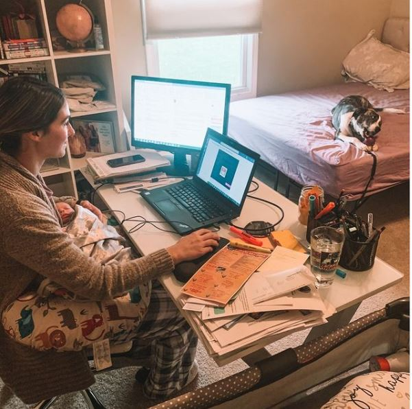 5 Tips For Mamas Working From Home