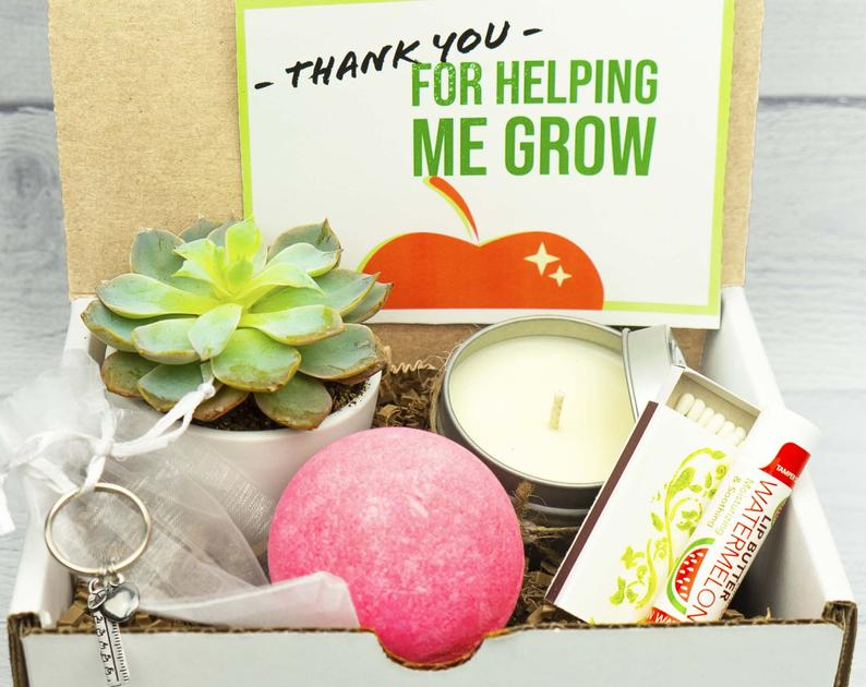 5 Thoughtful Teacher Gift Boxes