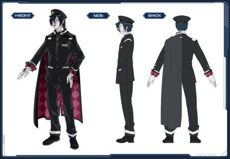 Elegant School Uniform PSO2