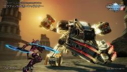 Playstation 4 PSO2 Desert