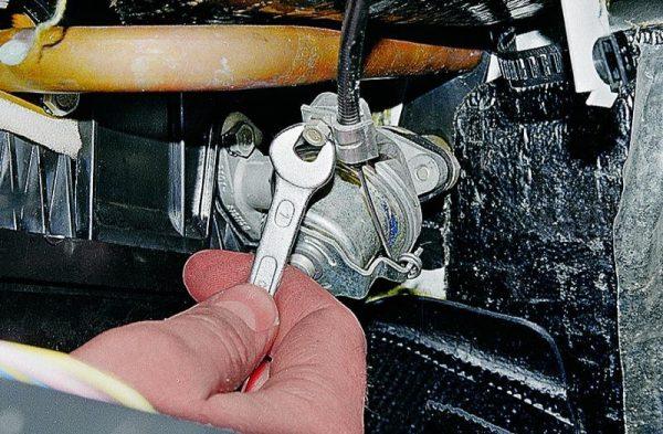 Crane fűtési rendszer VAZ 2107