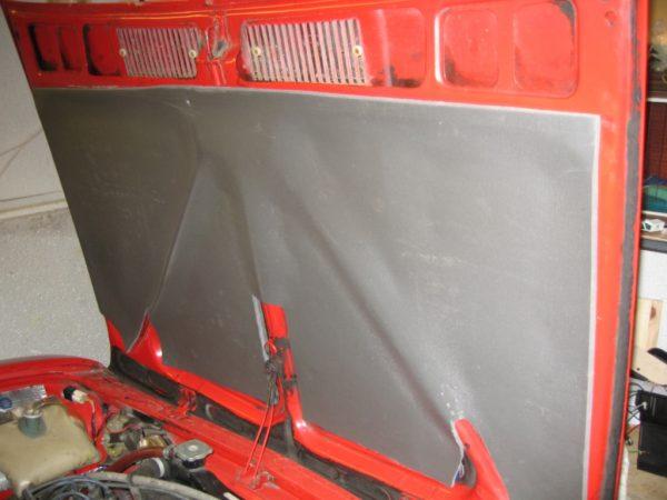 Noise insulation hood