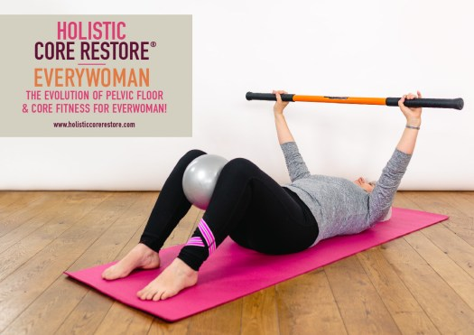 The evolution of pelvic floor and core fitness for everywoman.