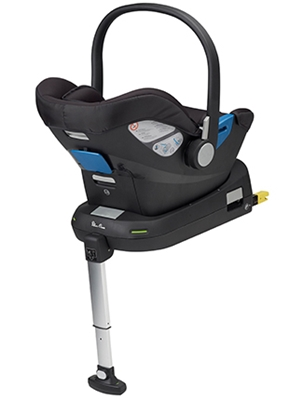 Silver Cross Simplicity Group 0 Car Seat and Simplifix Isofix Base Black