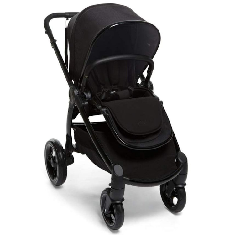 Multi-Position Mamas /& Papas Ocarro Cold Weather Footmuff with Cosy Soft Fleece Lining Water Resistant Raven