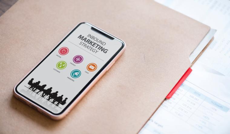 digital marketing services iphone photo