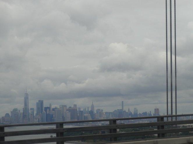 Das erste Mal die Skyline erhaschen