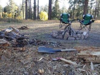Unsere Feuervorbereitungen