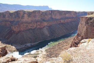 Übernachtungsplatz direkt am Canyon