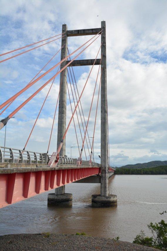 Die angeblich zweitgrößte Brücke Zentralamerikas