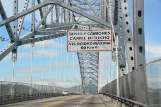 Die Brücke über den Panamakanal