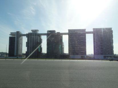 Es wird viel gebaut um und in Kuala Lumpur