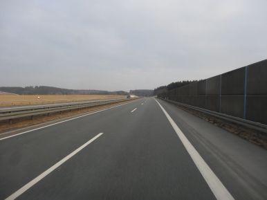 So schön - deutsche Schnellstraßen: sorglos Autofahren