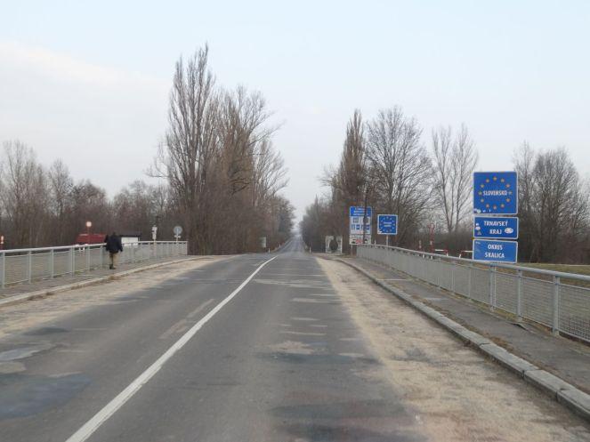 Grenze Slowakei