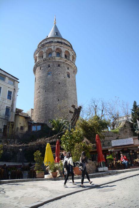 Der Galata Turm