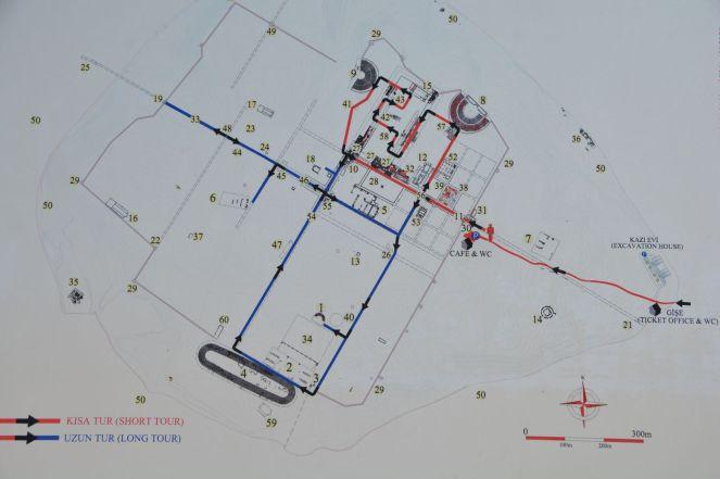 Stadtplan Laodicea