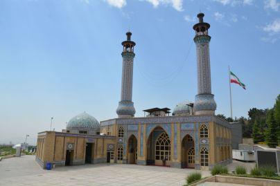 Moschee neben unserem Übernachtungsplatz