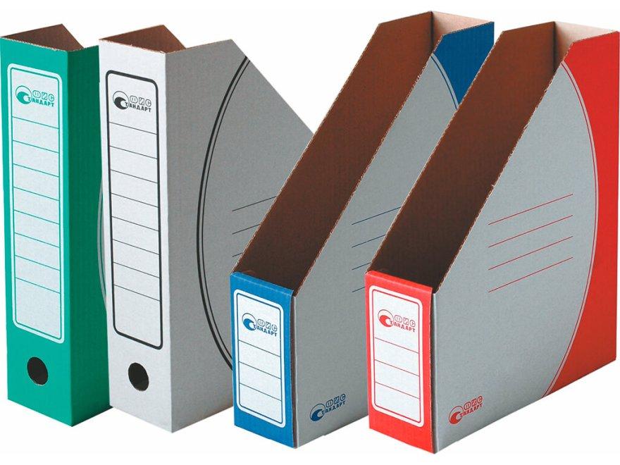 коробки для офисных папок