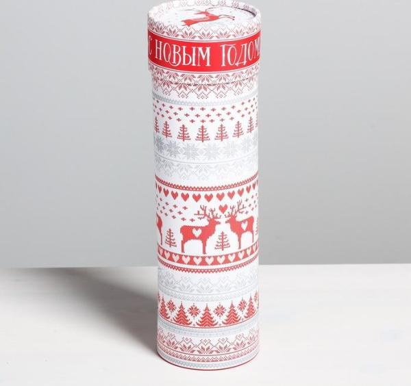 Тубус под бутылку «С Новым Годом!»