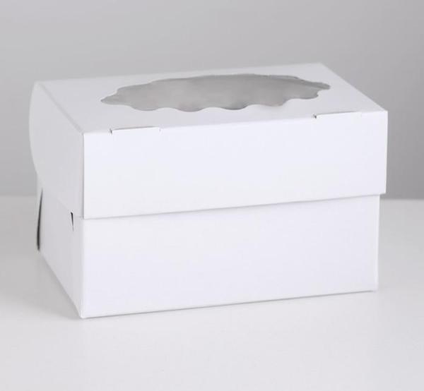 Коробочка для 2 капкейка