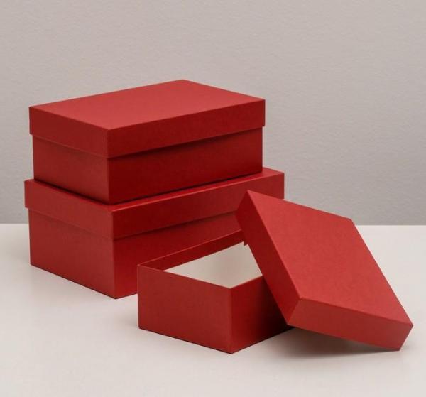 "Коробка ""Красный крафт"""