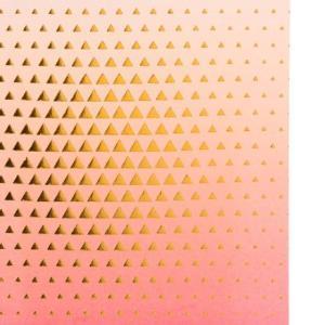 Бумага для скрапбукинга с фольгированием «Вкус жизни», 15.5 × 15.5 см, 250 г/м