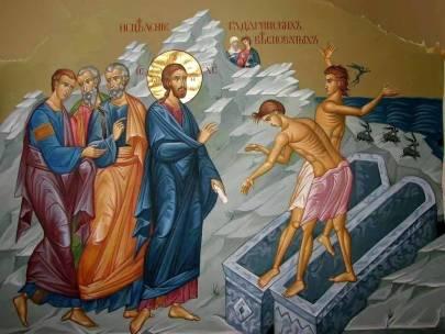 PREDICA LA DUMINICA A V-A DUPA RUSALII Vindecarea celor doi indraciti din Gadara