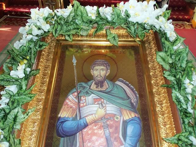 Pătimirea Sfîntului Mare Mucenic Teodor Tiron
