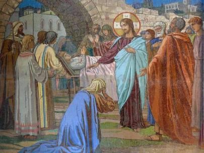 Duminica a XX-a după Rusalii – Învierea fiului văduvei din Nain